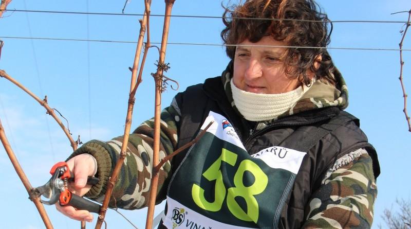 Mistrovství ČR v řezu révy vinné letos ovládly ženy