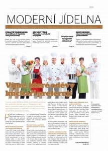 MODERNÍ JÍDELNA: noviny pro velkokapacítní jídelny a vývařovny