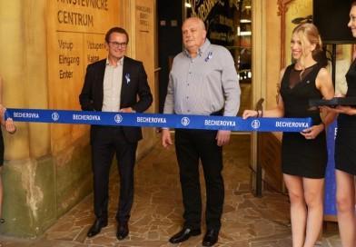 Nové Návštěvnické centrum Becherovky v Karlových Varech