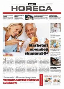 Svět HORECA: noviny pro restaurace, hotely, kavárny, bary