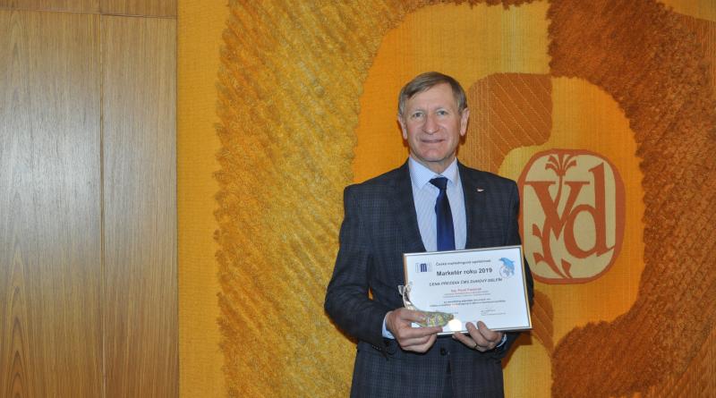 V soutěži Marketér roku 2019 byl oceněn Ing. Pavel Pastorek