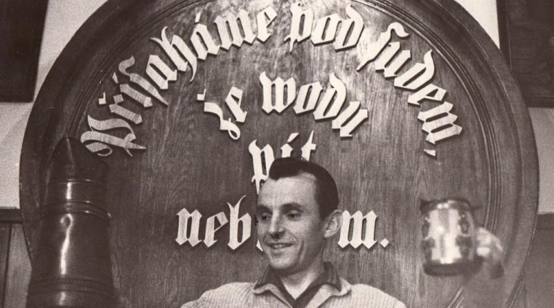 První ředitel pivovaru Nošovice Václav Petras (zdroj - Archiv společnosti Plzeňský Prazdroj)